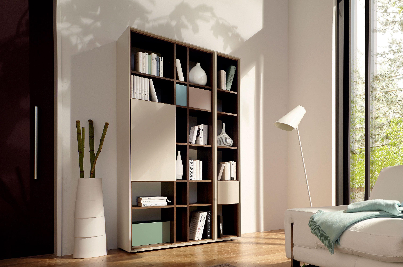 scopia libreria a giorno by h lsta werke h ls. Black Bedroom Furniture Sets. Home Design Ideas