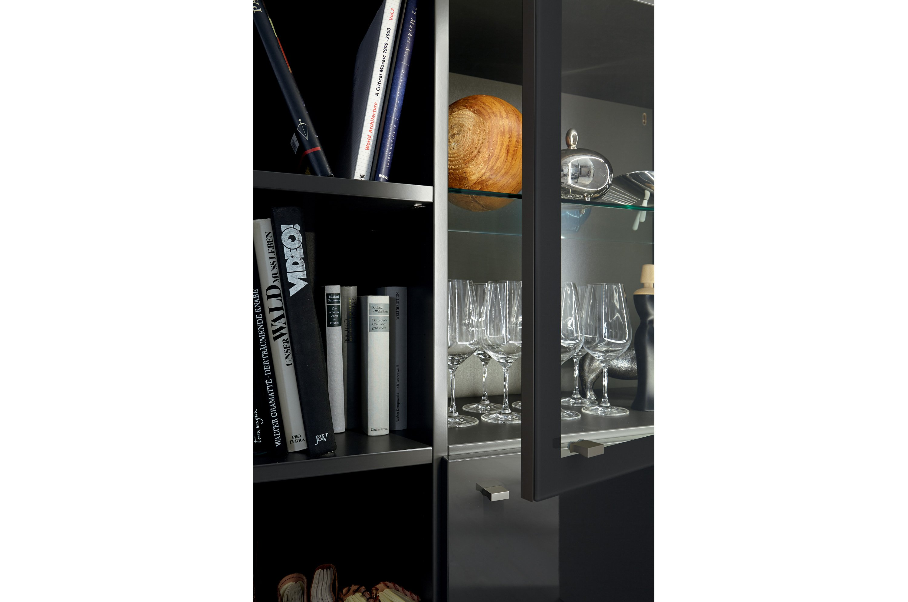 xelo highboard by h lsta werke h ls. Black Bedroom Furniture Sets. Home Design Ideas