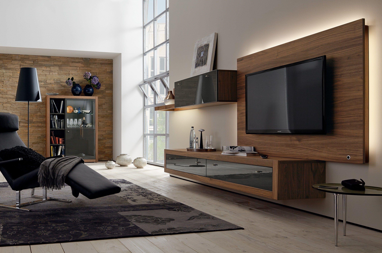 XELO TV cabinet with built-in speakers by Hülsta-Werke Hüls