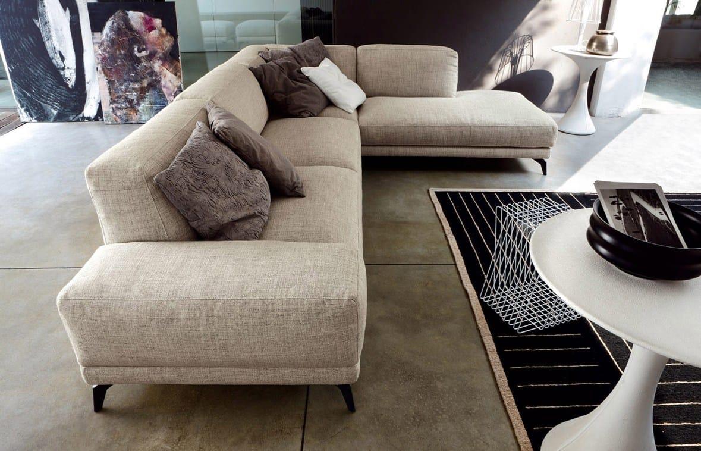 Shade divano angolare by ditre italia design stefano for Divano angolare tessuto prezzi