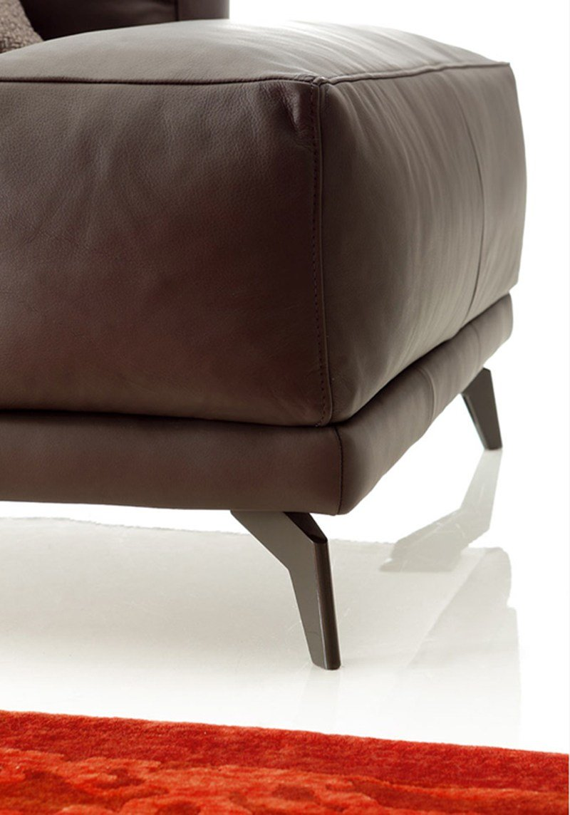 DIVANO COMPONIBILE IN ECOPELLE SHADE LEATHER BY DITRE ITALIA  DESIGN STEFANO SPESSOTTO, LORELLA ...