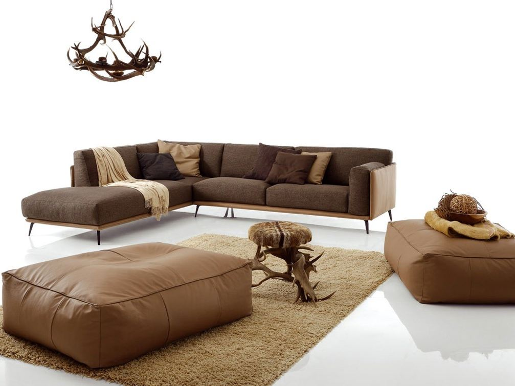 SECTIONAL UPHOLSTERED SOFA KRIS MIX LOW BY DITRE ITALIA