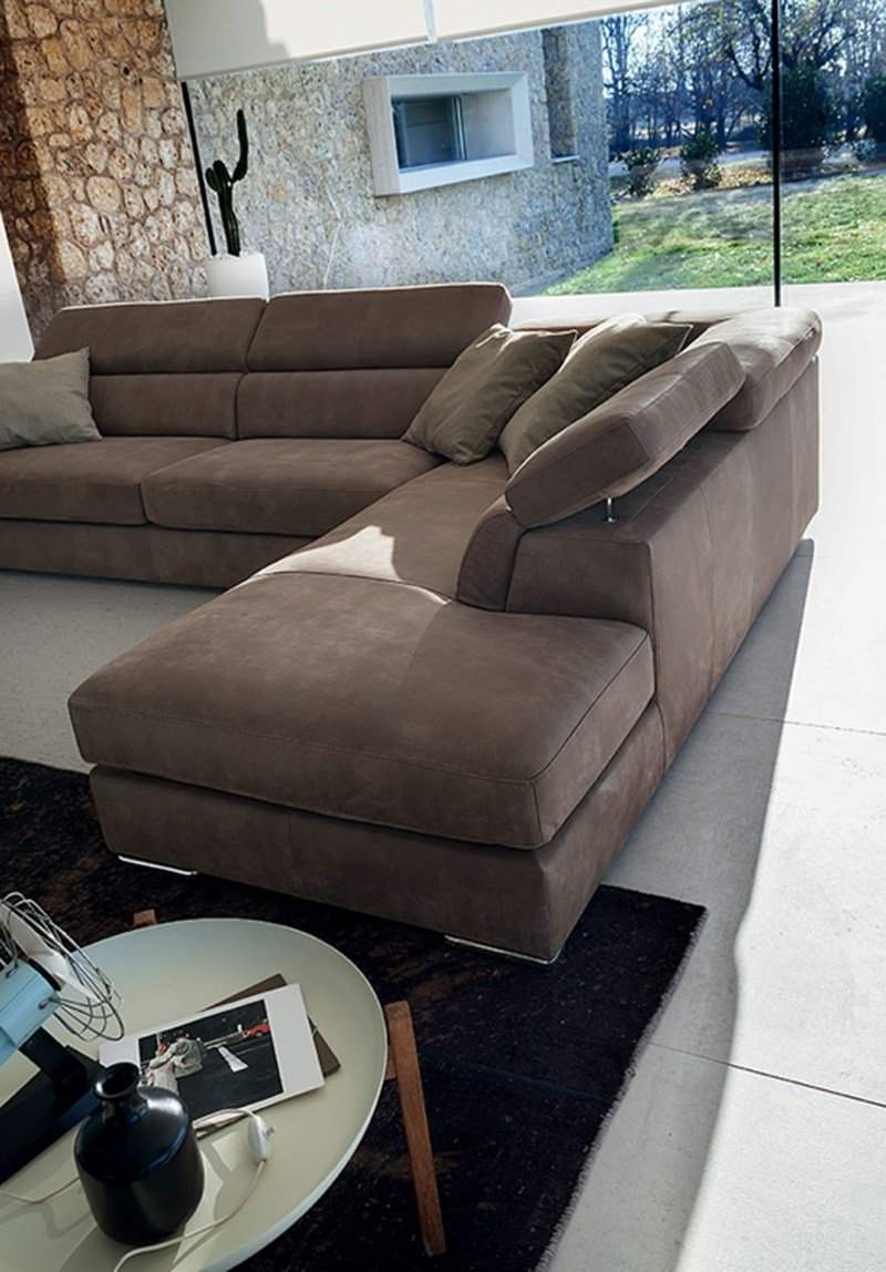 Divano reclinabile in pelle ANTIGUA LEATHER by Ditre Italia design Stefano Spessotto, Lorella ...
