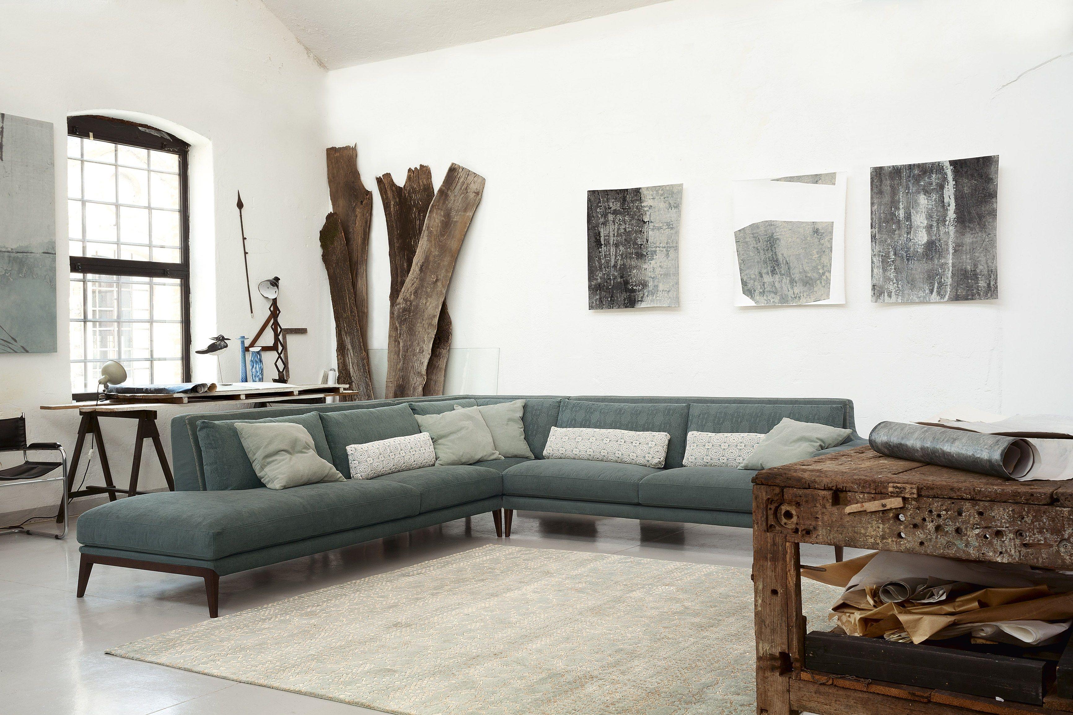 Miller divano angolare by ditre italia design stefano for Di tre italia