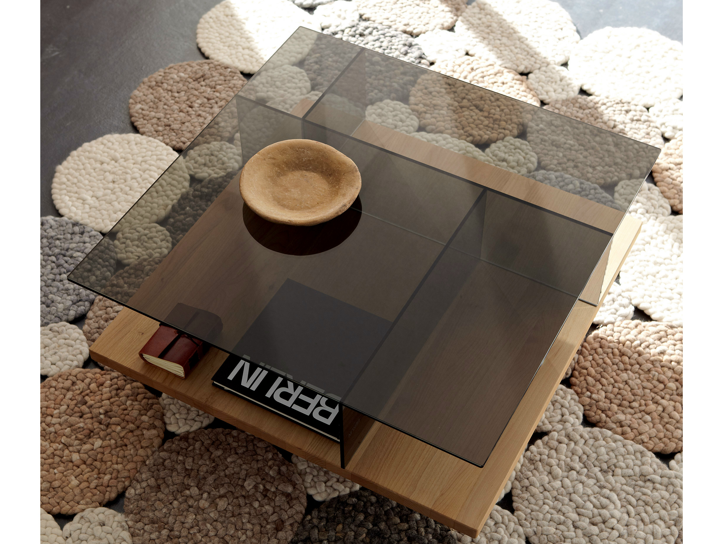 CT 150 Square coffee table by HülstaWerke Hüls