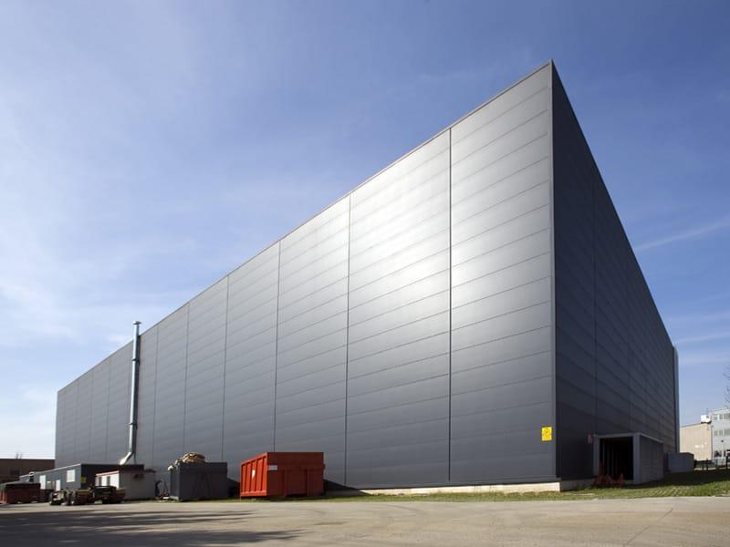 Metal Panel Facade : Insulated metal panel for facade isoparete plissÉ by isopan