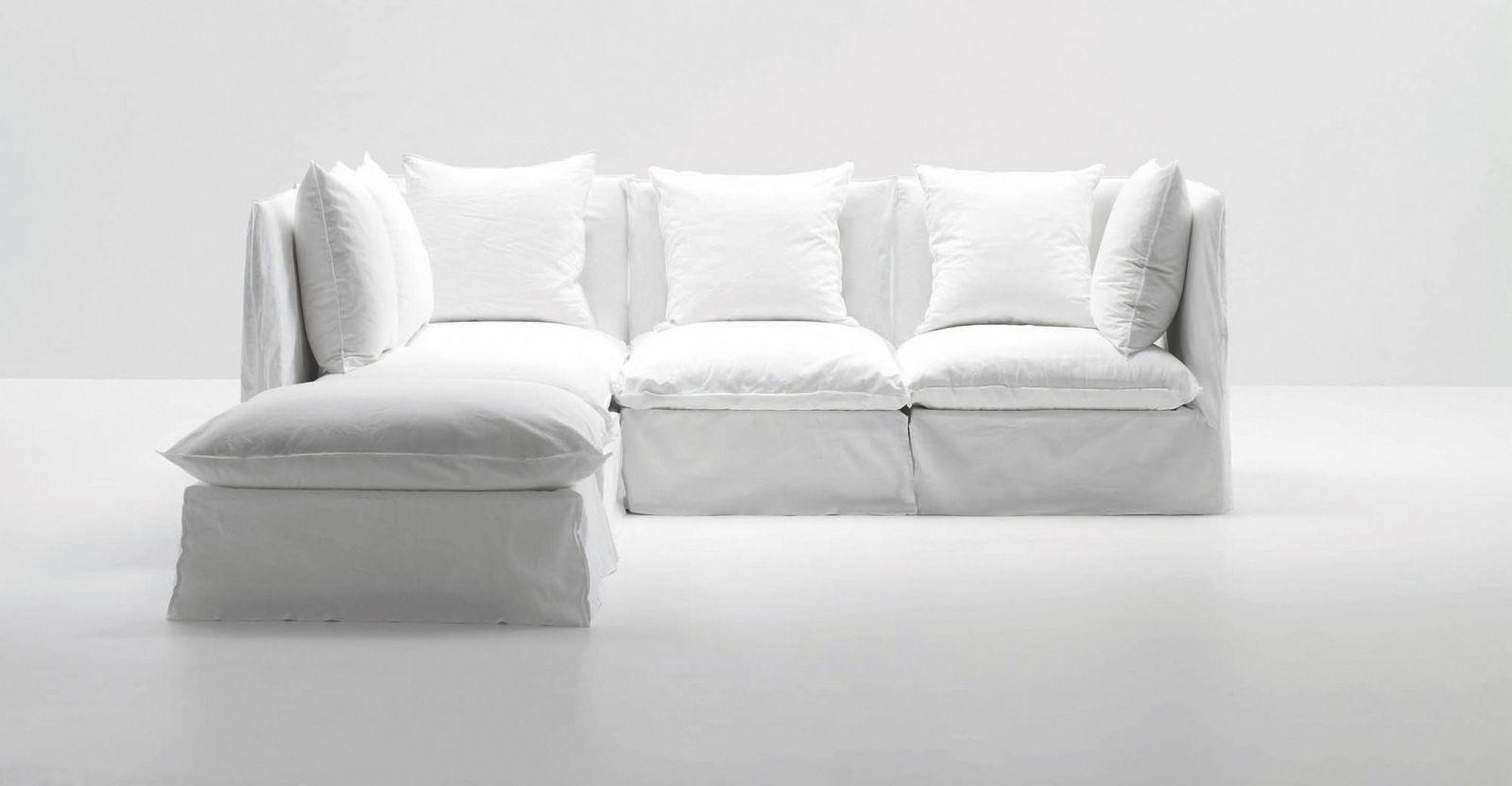 Corner modular armchair GHOST 07 By Gervasoni design Paola Navone