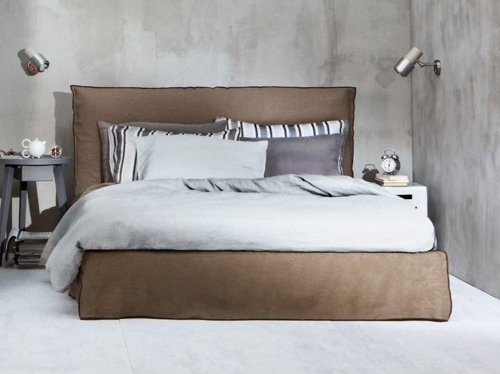 Ghost 80 Double Bed By Gervasoni Design Paola Navone