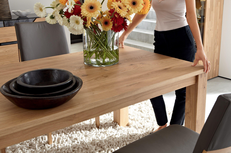 Tavolo allungabile da pranzo in legno massello et 1800 for Fabriquer table salle manger bois