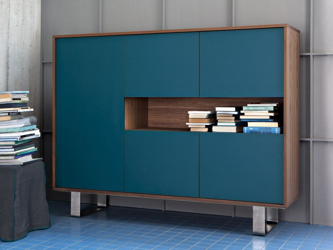 lacquered highboard sweet 67 by gervasoni design paola navone. Black Bedroom Furniture Sets. Home Design Ideas