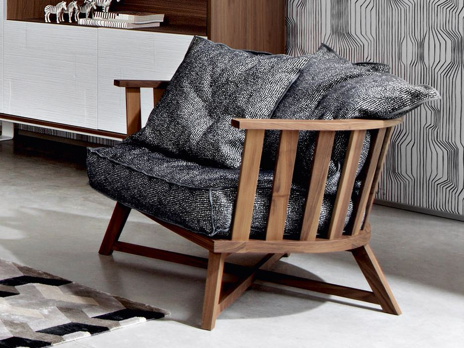 armchair with armrests gray 07 gray collection by. Black Bedroom Furniture Sets. Home Design Ideas