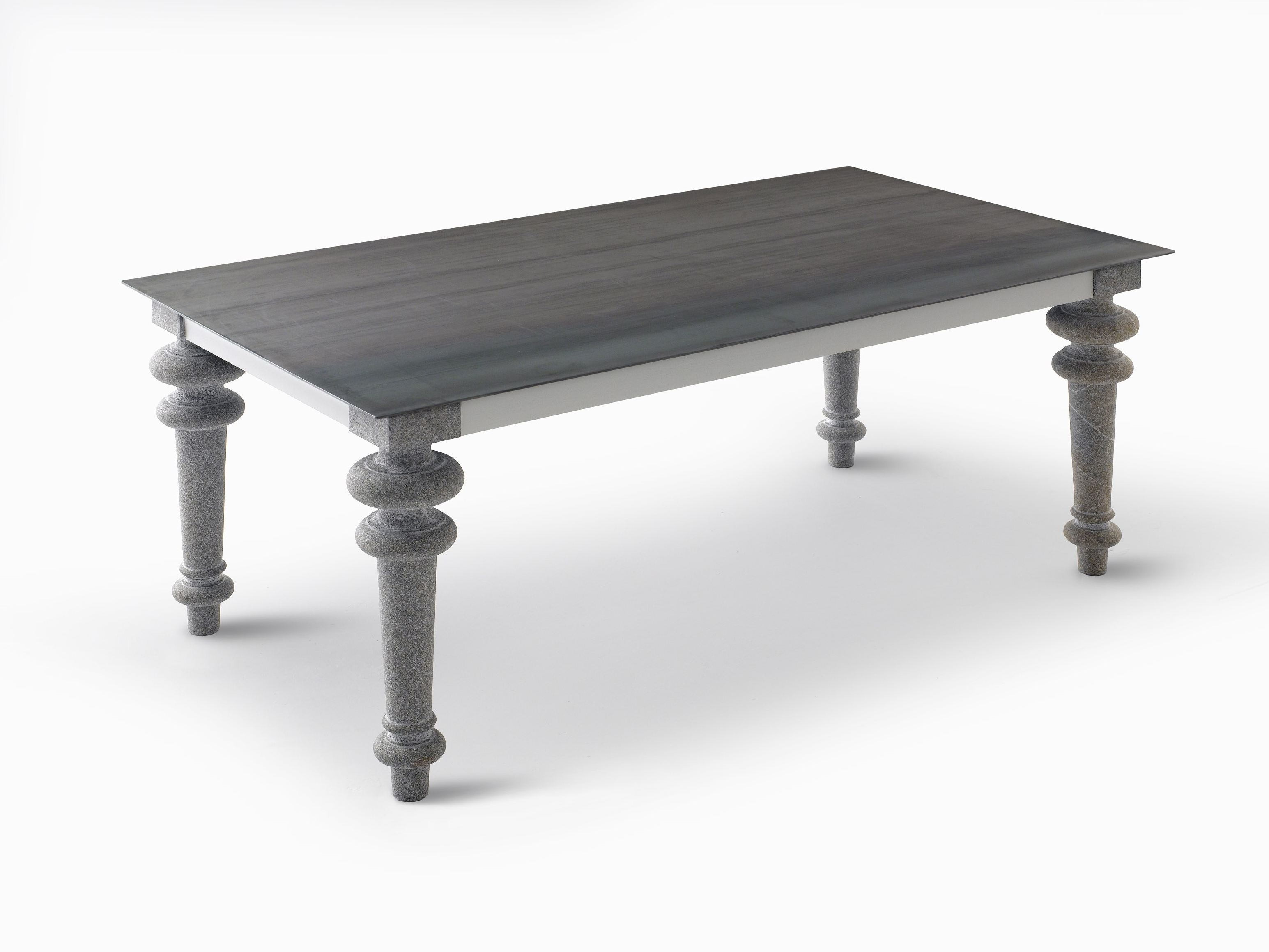 Rectangular Dining Table Gray 34 By Gervasoni Design Paola