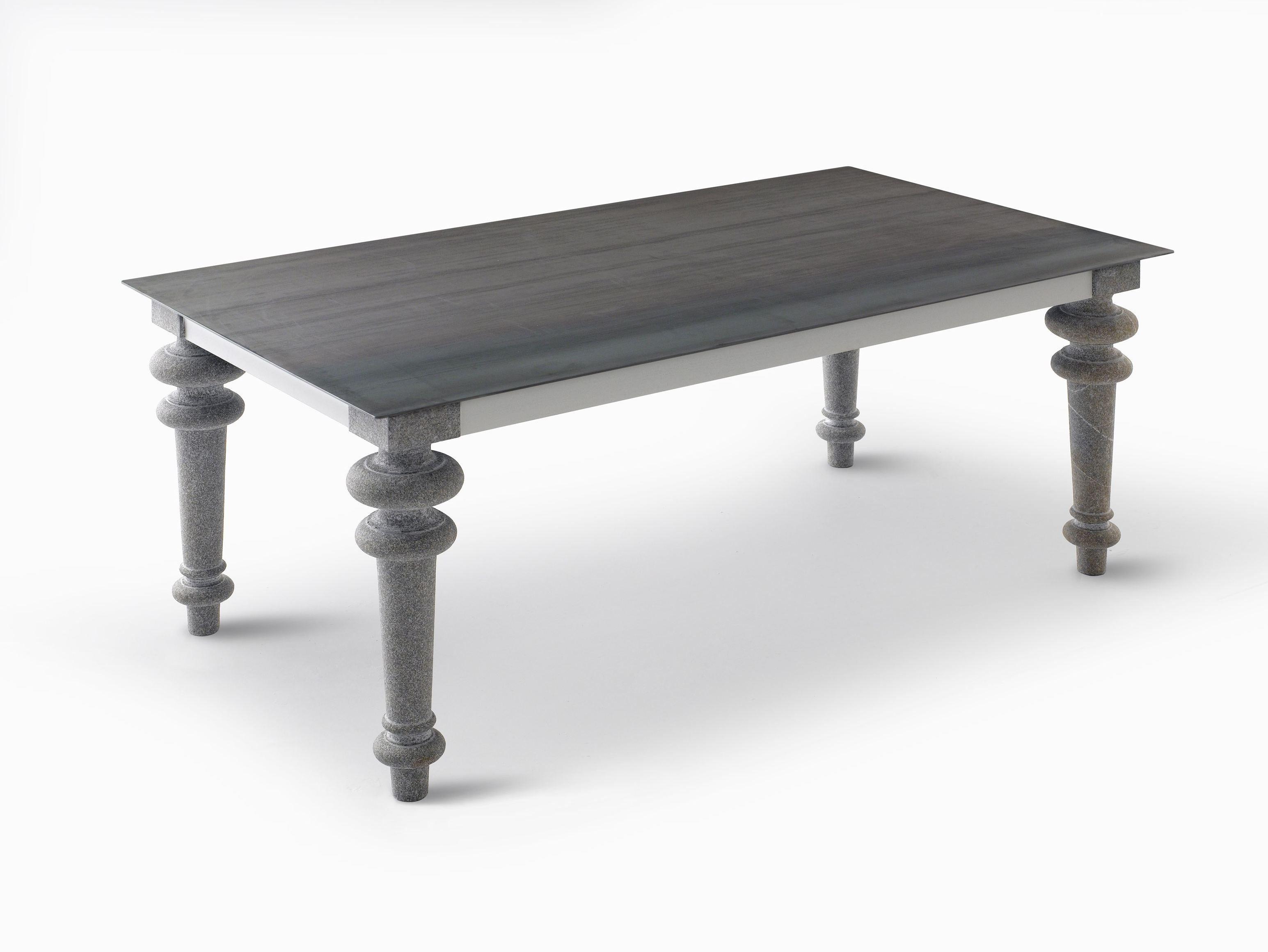 rectangular dining table gray 34 by gervasoni design paola