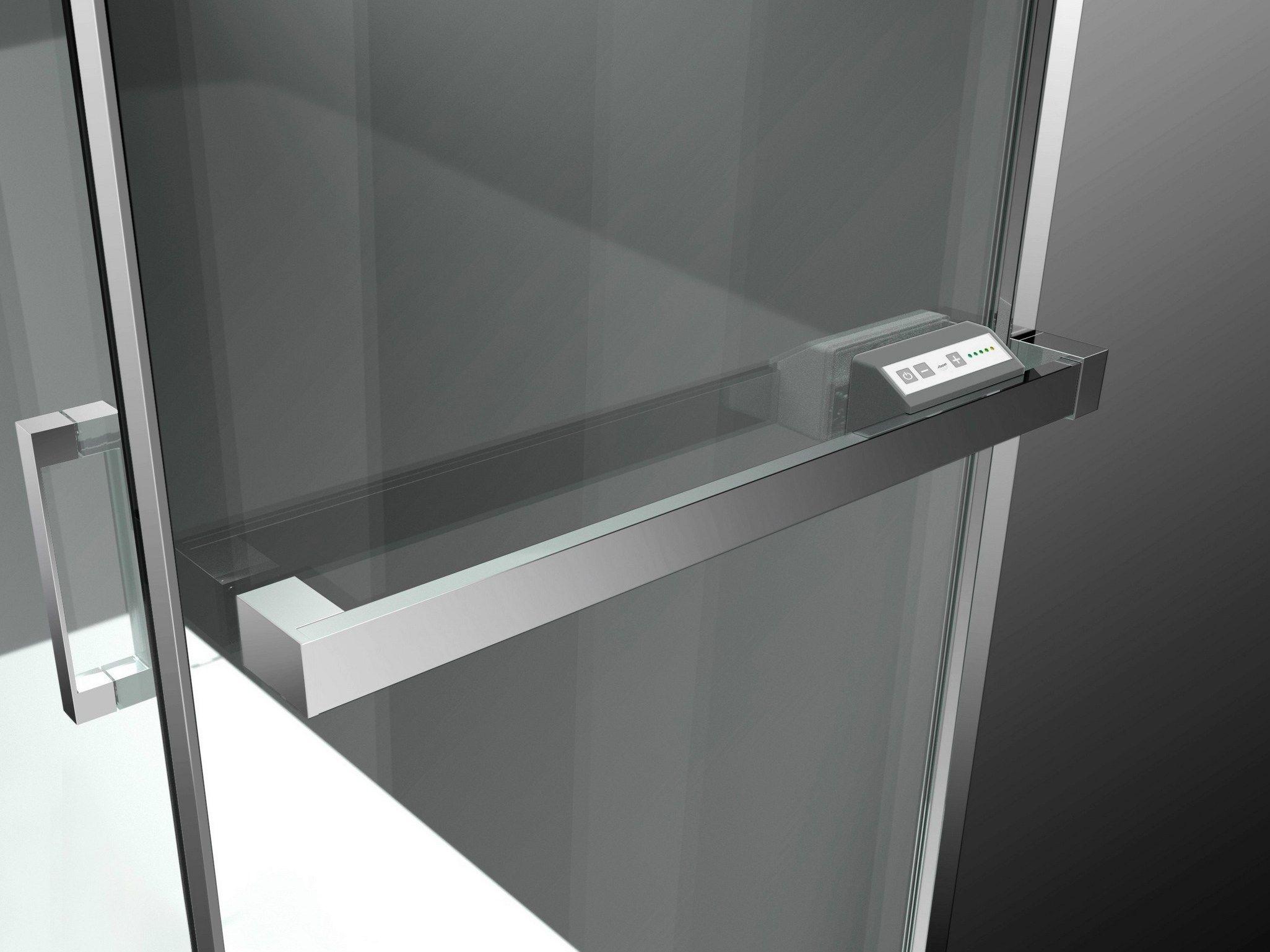 Paroi de douche chauffante sur mesure en verre tremp - Paroi de douche sur mesure castorama ...