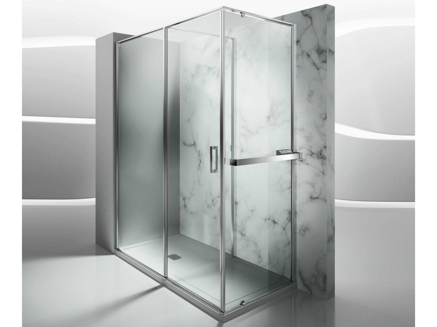 Paroi de douche chauffante sur mesure en verre tremp for Parois de douche en verre