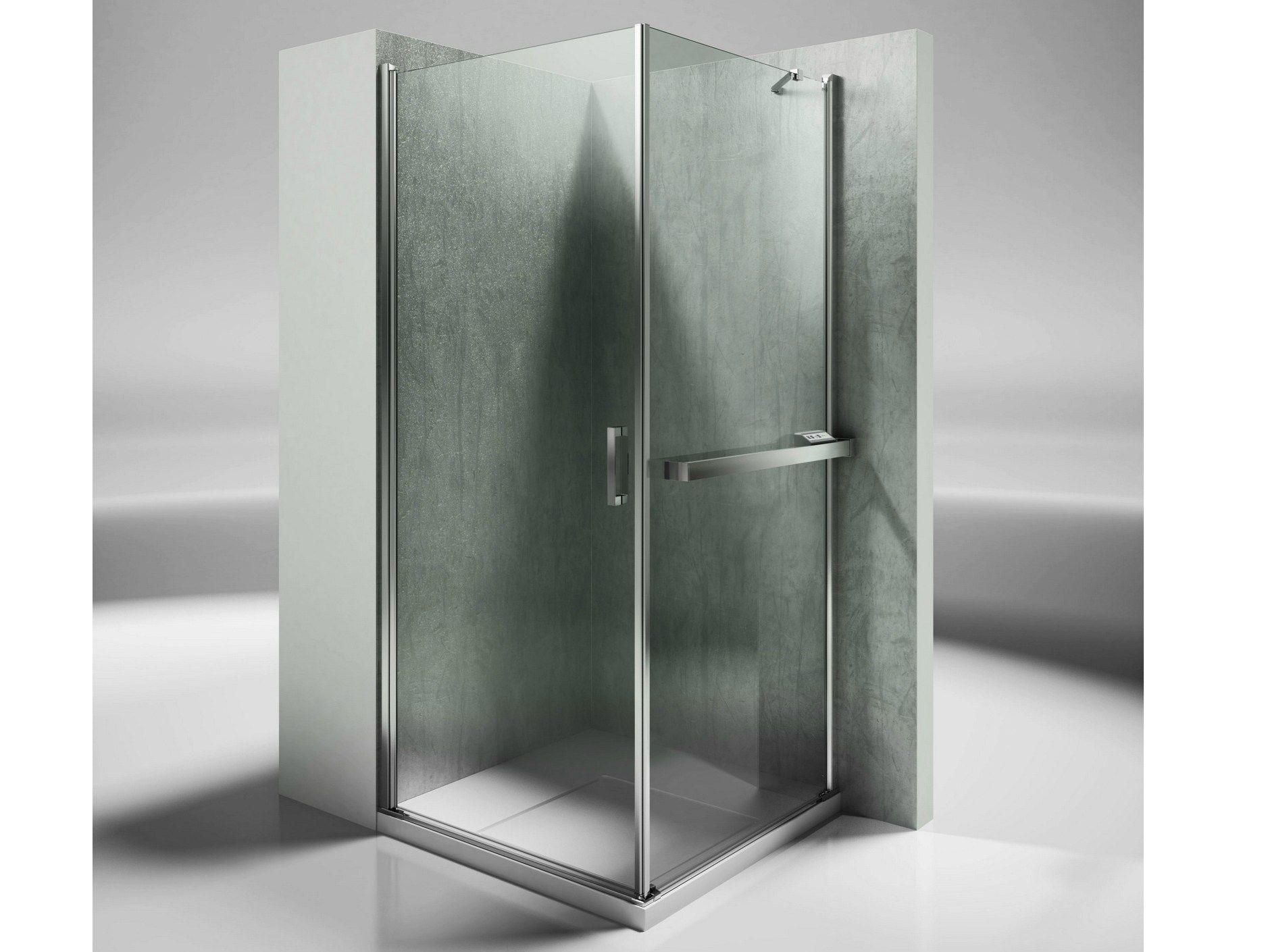Paroi verre sur mesure - Paroi de douche en verre trempe ...