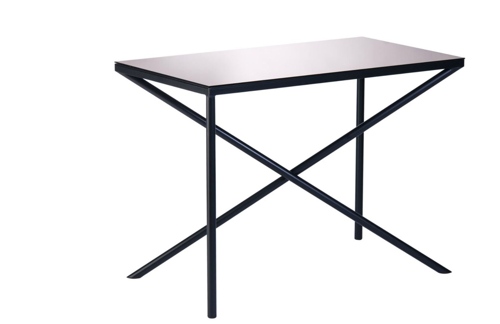 Rectangular Steel Table Illusion By Objekto Design Roberta