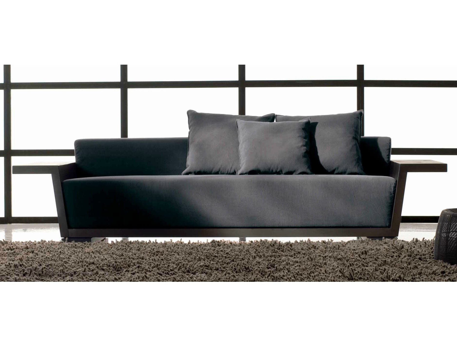 4 seater fabric sofa otto 109 otto collection by gervasoni design paola navone. Black Bedroom Furniture Sets. Home Design Ideas