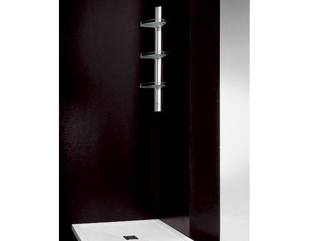 colonne de douche mural d 39 angle en aluminium amico junior by vismaravetro design centro progetti. Black Bedroom Furniture Sets. Home Design Ideas