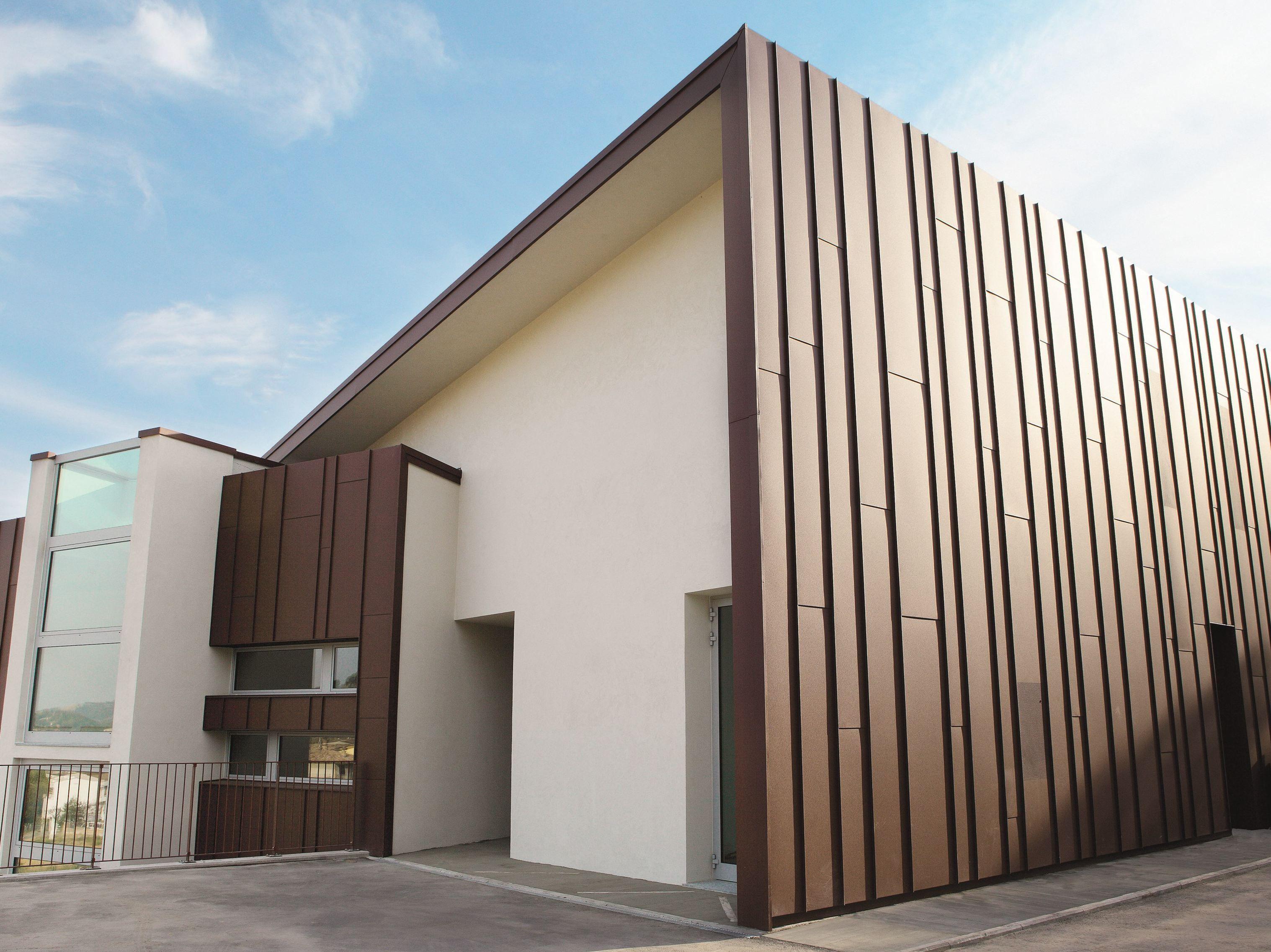Fachadas de chapa metalica materiales de construcci n - Materiales de construccion para fachadas ...