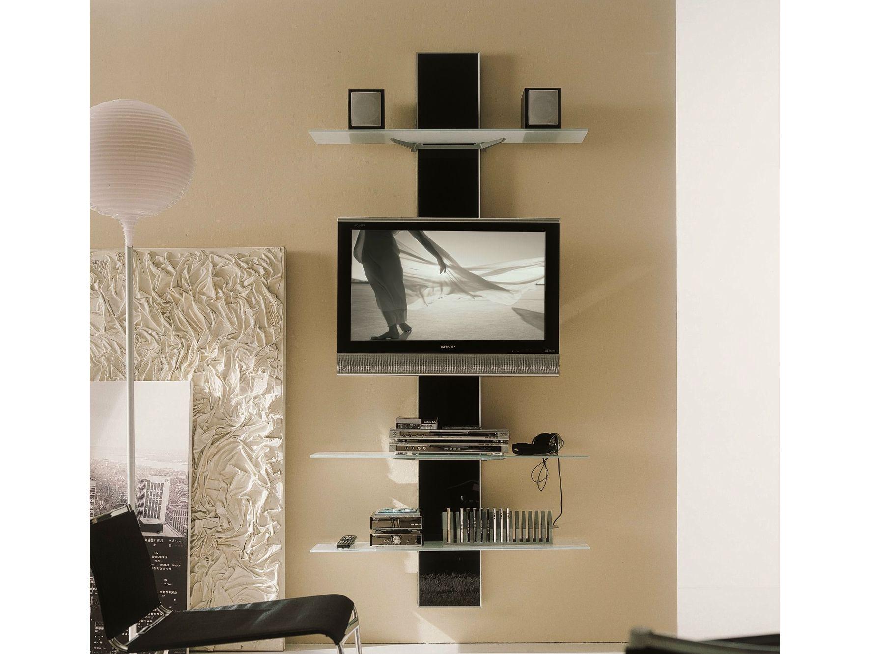 Supporto in alluminio da parete per TV VOILÀ  Supporto per TV ...