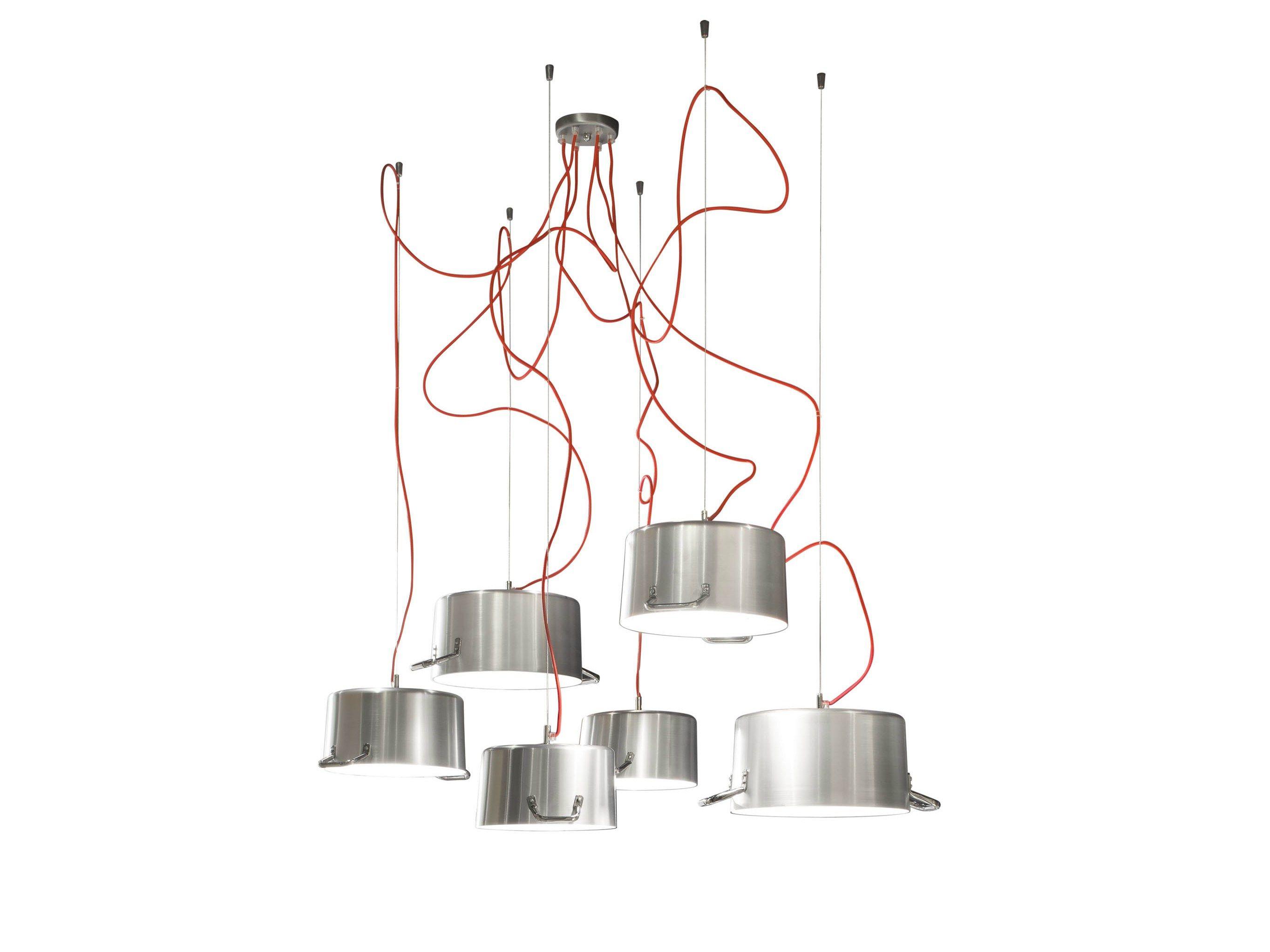 Lampadario Lampadine Appese: Produttore lampade di design a napoli ...