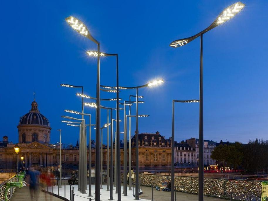Poste de luz led estilo moderno aloa by eclatec design for Architecture poste a poste