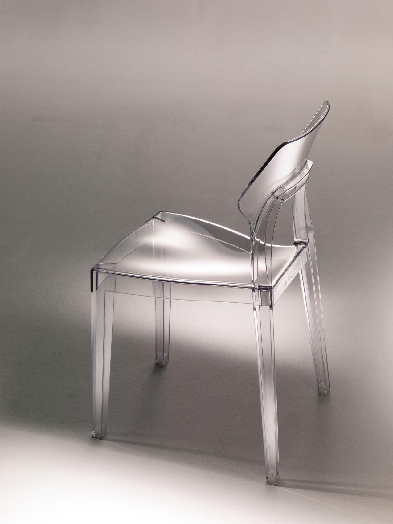chaise en polycarbonate aria by bontempi casa. Black Bedroom Furniture Sets. Home Design Ideas