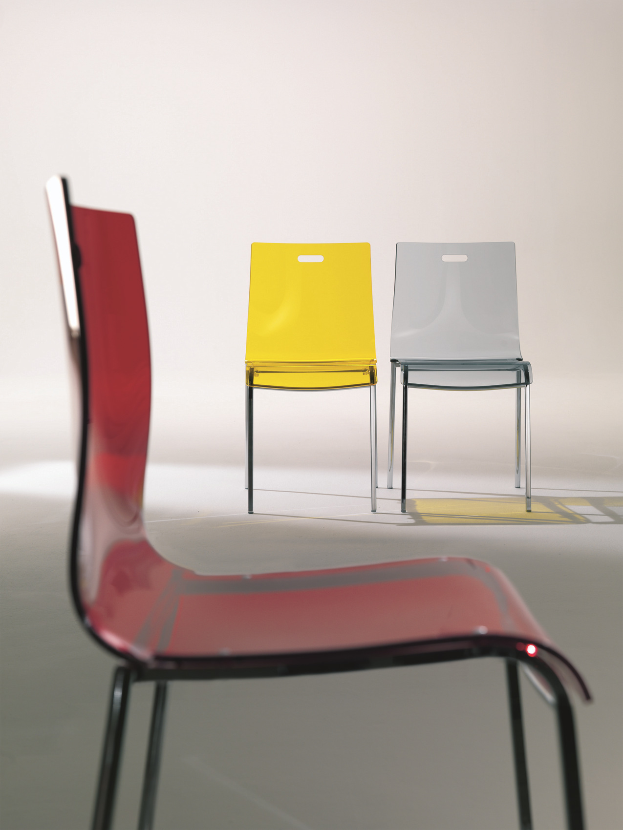 Sedia in acciaio in stile moderno felix by bontempi casa for Casa stile moderno