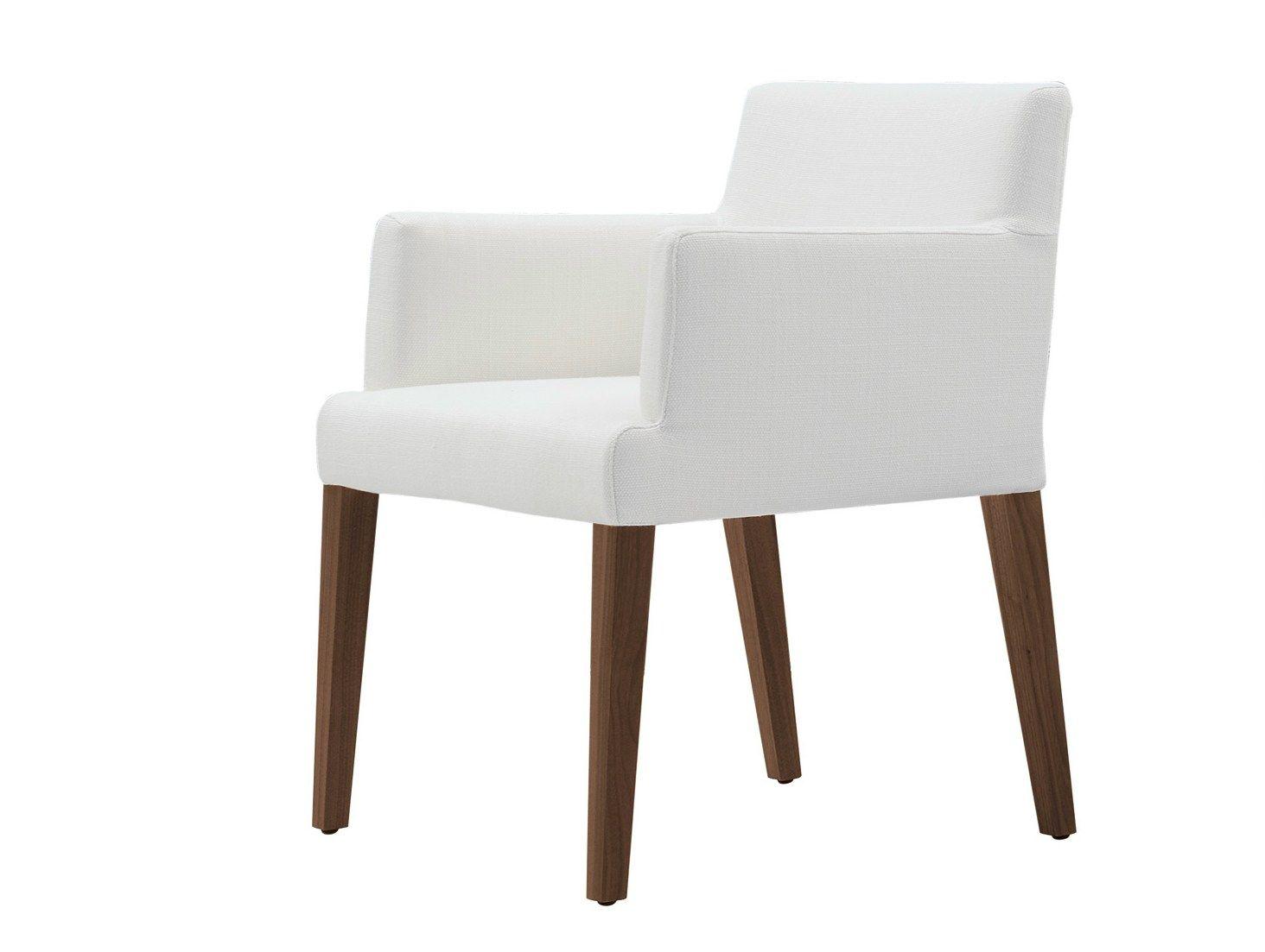 Velvet silla con brazos by poliform for Sillas de cocina con brazos