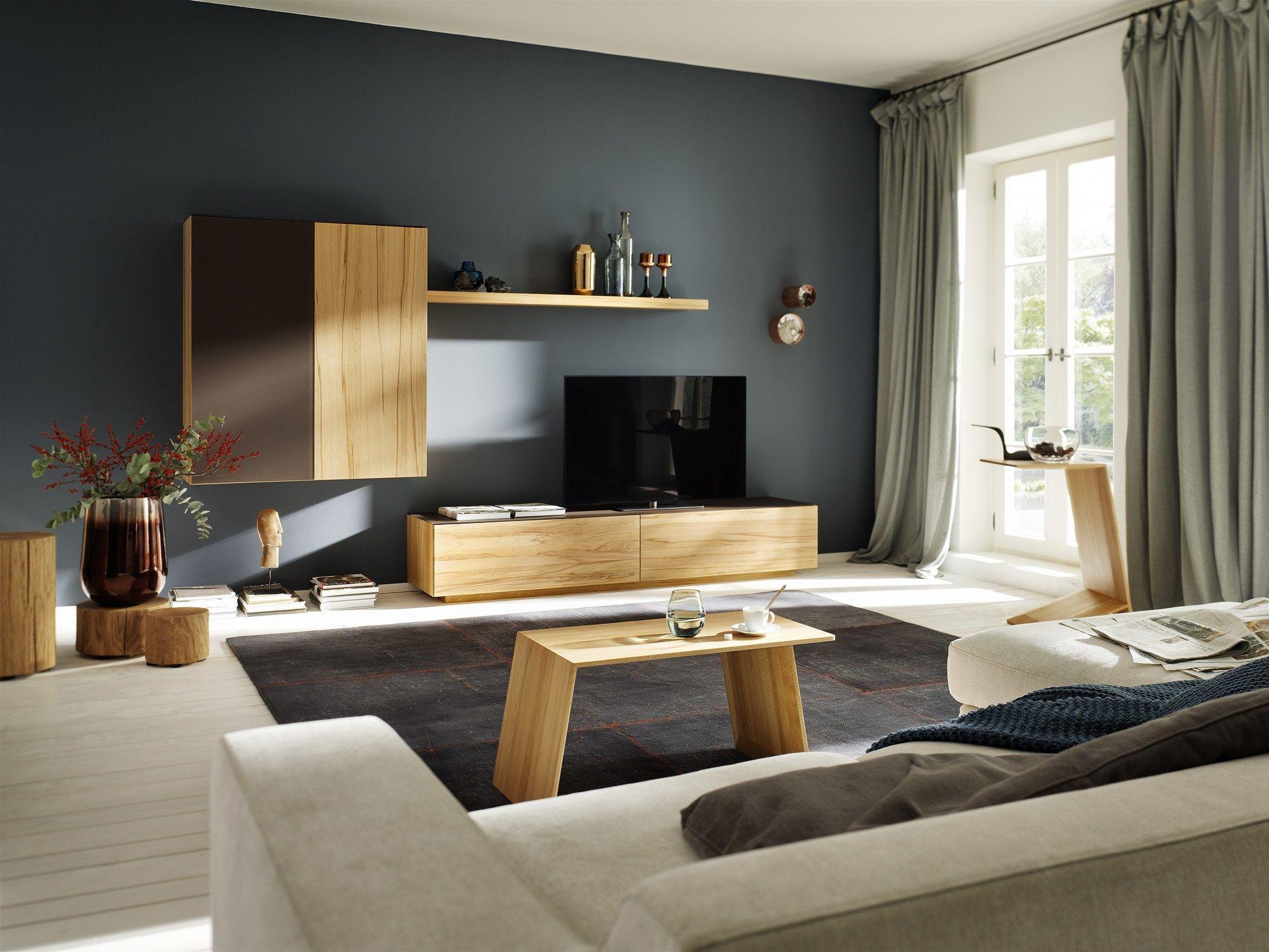 Solid wood coffee table SIDEKICK By TEAM 7 design Stefan ...