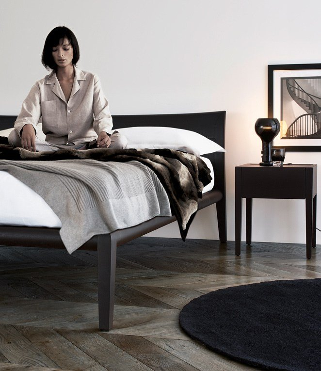 Letto Matrimoniale Poliform : Letto matrimoniale in legno memo by poliform design