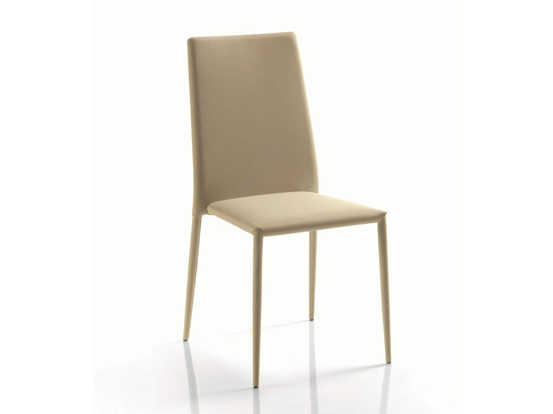 Futura off sedia impilabile bontempi casa in metallo e sedia