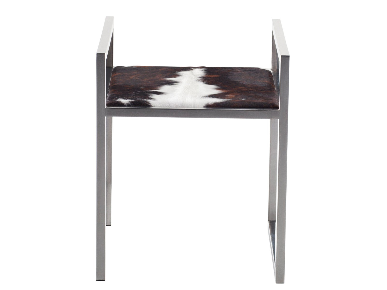 tabouret en peau de vache dixon by azea design victor caetano. Black Bedroom Furniture Sets. Home Design Ideas