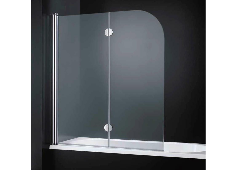 Parete per vasca con apertura a soffietto light d06 by rare - Pareti vasca da bagno prezzi ...