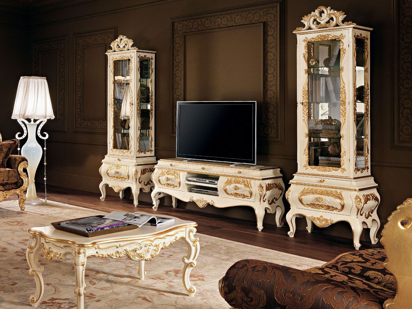 11105 meuble tv by modenese gastone group. Black Bedroom Furniture Sets. Home Design Ideas