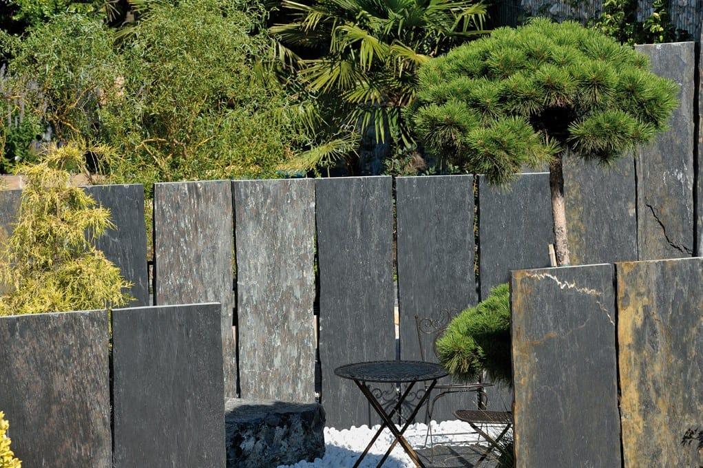 Valla modular de piedra natural valla de piedra natural by granulati zandobbio - Vallas de piedra ...