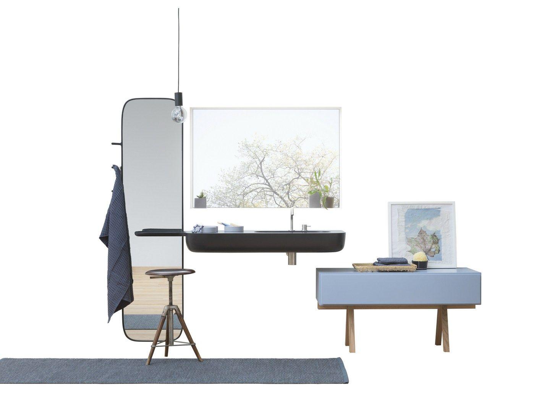 Mobile bagno basso con cassetti collezione esperanto by rexa design design monica graffeo - Mobile basso bagno ...