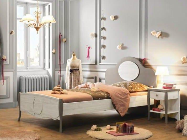 demoiselle letto by gautier france. Black Bedroom Furniture Sets. Home Design Ideas