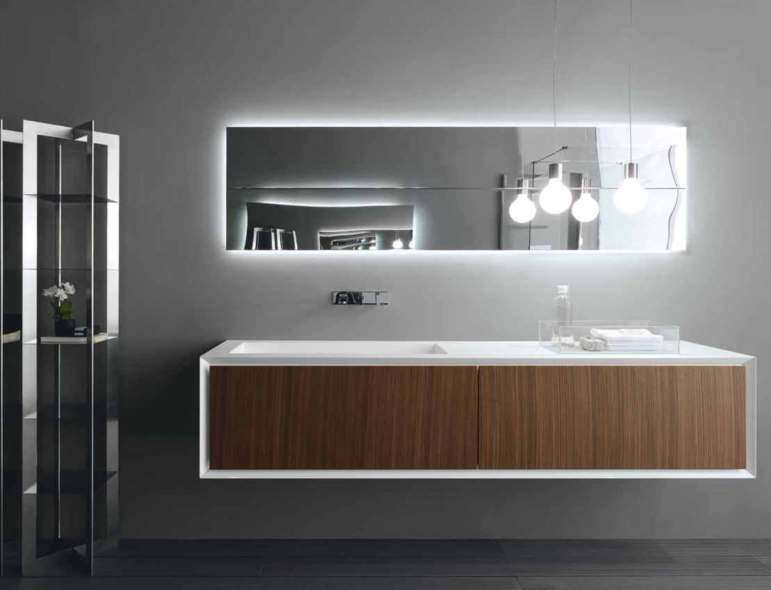 k one single vanity unit by rifra design byoung soo zocchi. Black Bedroom Furniture Sets. Home Design Ideas