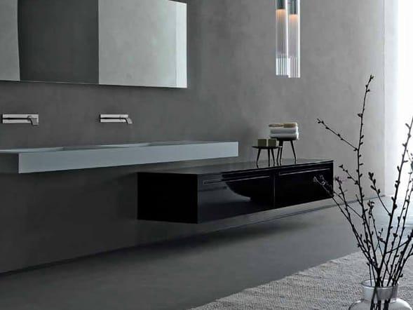 Zero meuble pour salle de bain basse by rifra - Mobili bagno rifra ...