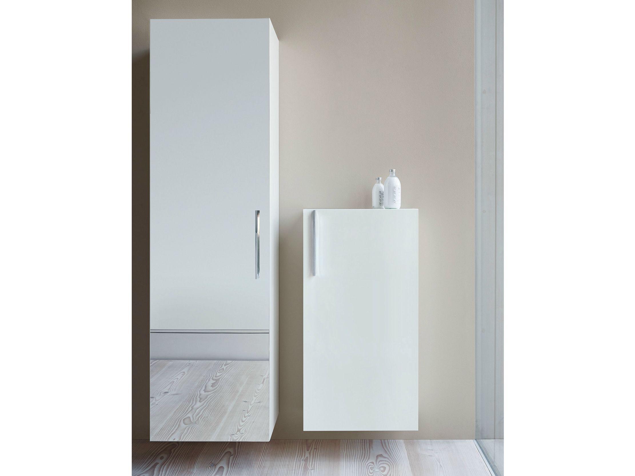 Mobile bagno sospeso con ante mobile bagno a colonna for Mobile bagno colonna