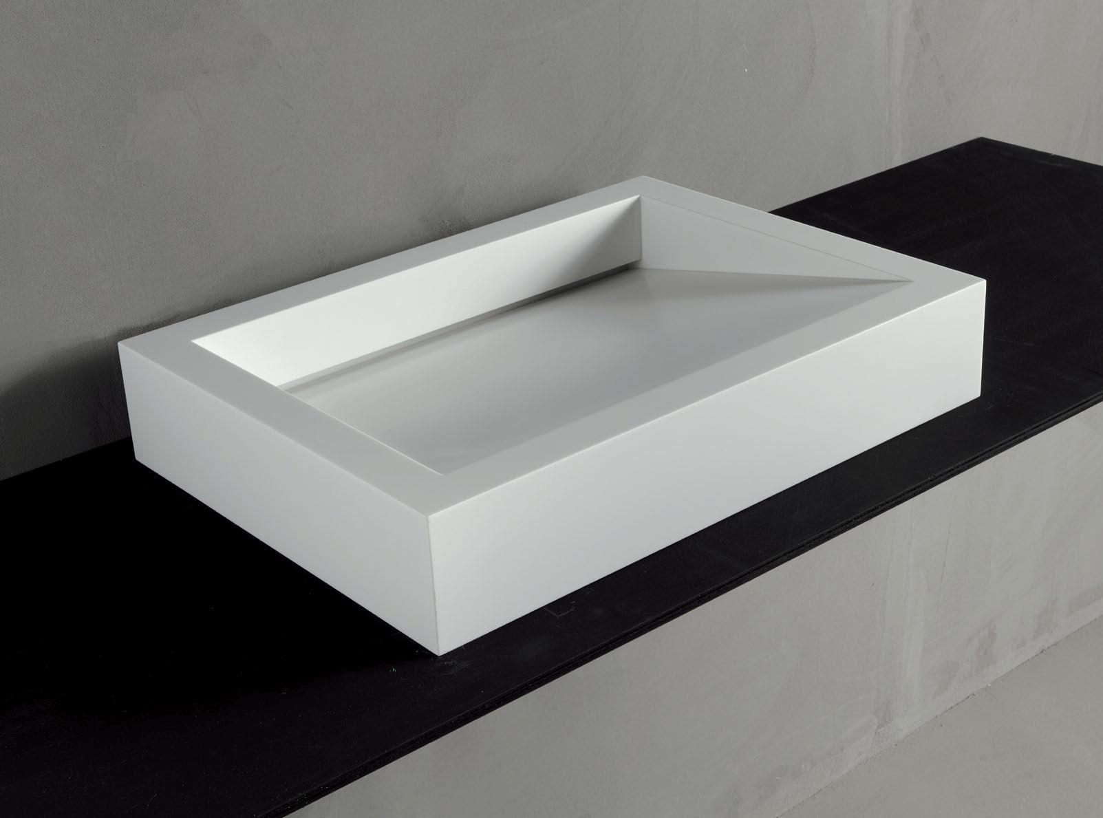 vasque poser en corian gap 01 by rifra. Black Bedroom Furniture Sets. Home Design Ideas