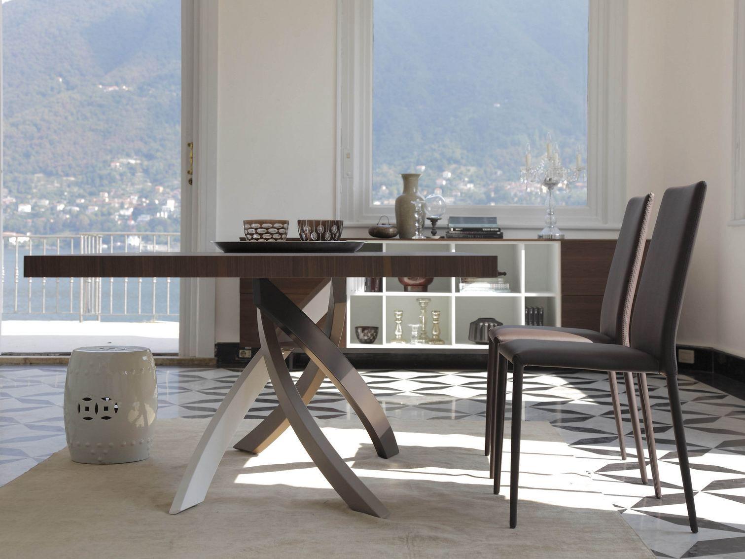 ARTISTICO Table en bois by Bontempi Casa