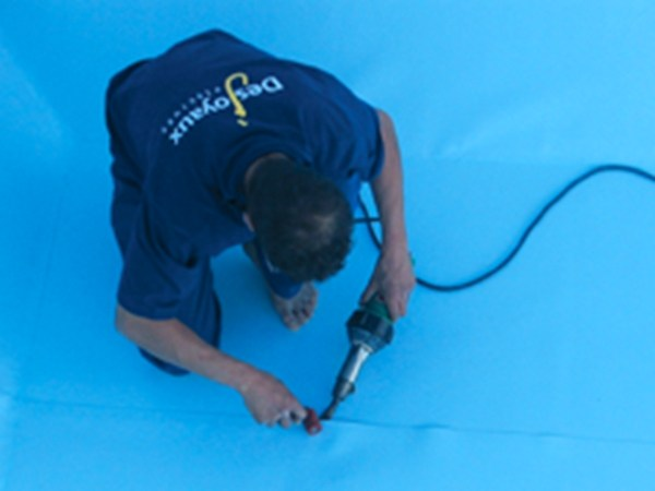 Pool liner reinforced pvc by desjoyaux piscine italia for Piscine desjoyaux