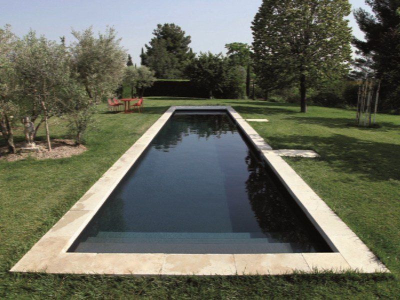 Rectangular stairs for swimming pools desjoyaux for Piscine desjoyaux
