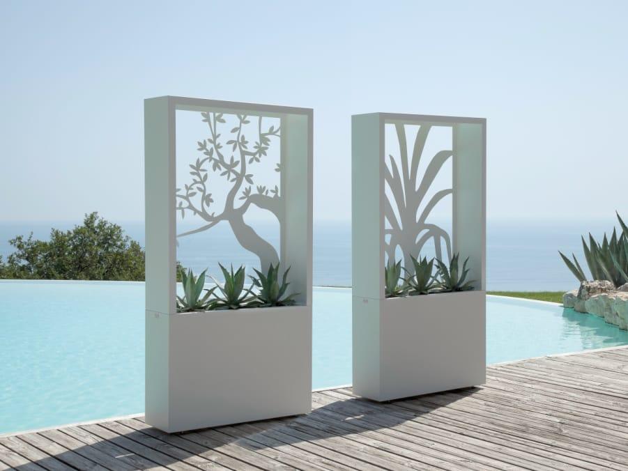 Jardini re haute olivo by talenti design roberto serio - Fioriere da interno ...