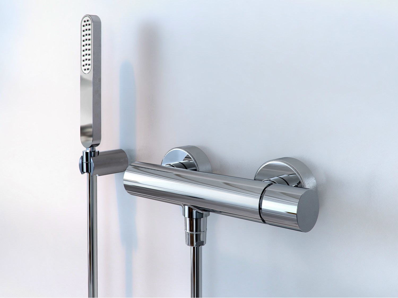 robinet pour douche chrom monocommande collection nomos. Black Bedroom Furniture Sets. Home Design Ideas