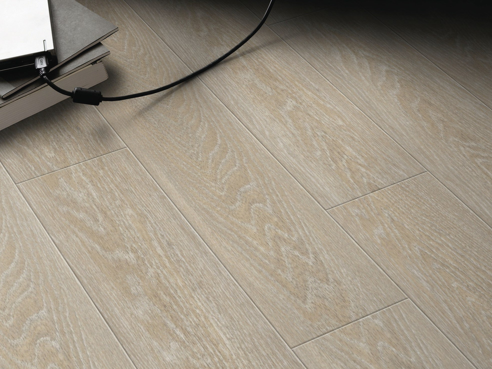 Anti slip floor tiles with wood effect artline wood lvt dryback line by gerflor for Parquet pvc gerflor