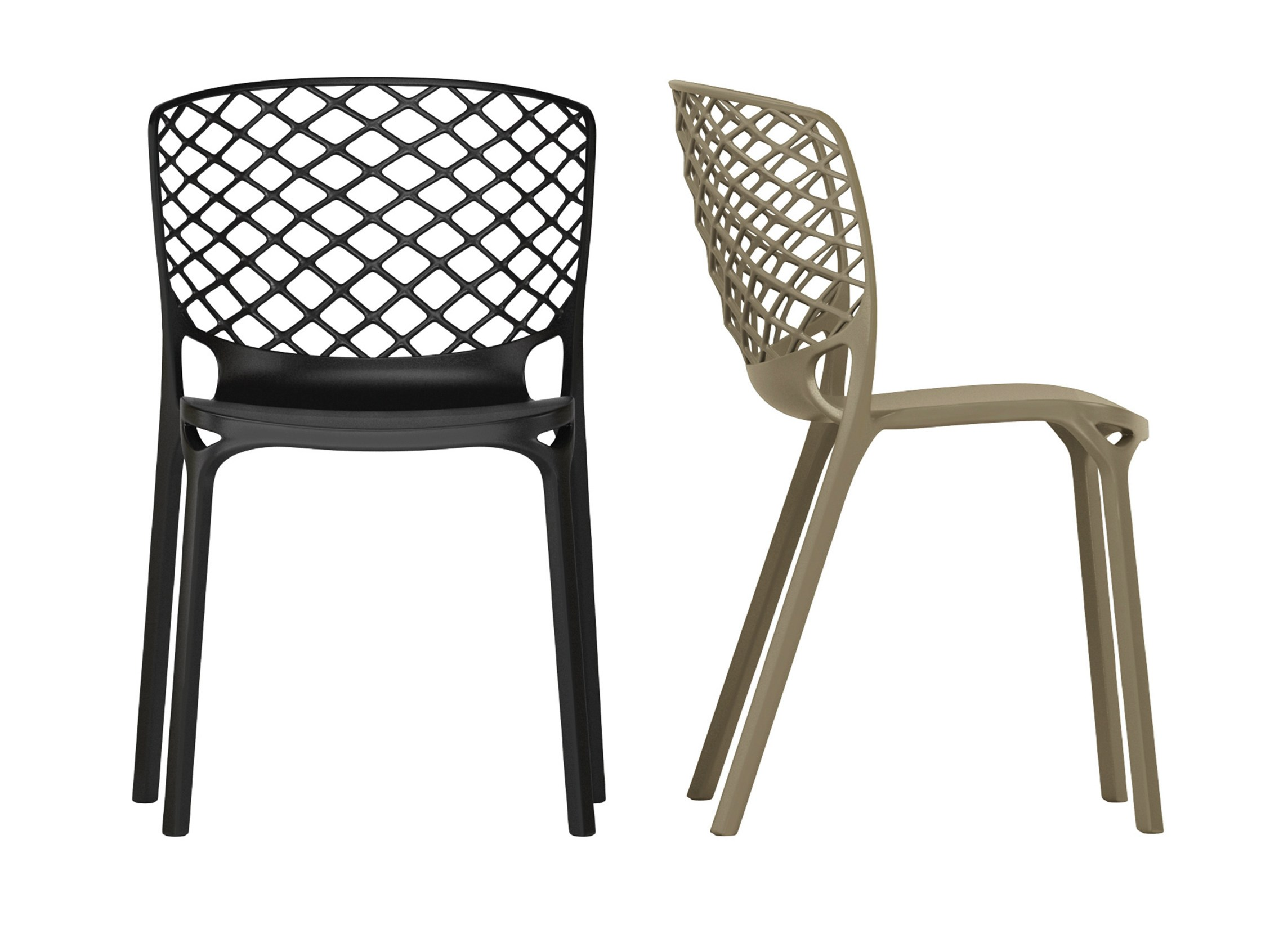 chaise empilable gamera by calligaris design archirivolto. Black Bedroom Furniture Sets. Home Design Ideas